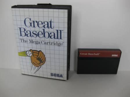 Great Baseball (Boxed - no manual) - Sega Master System Game